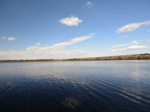 Maine Waterfront Land in Glenwood : Glenwood : Aroostook County : Maine