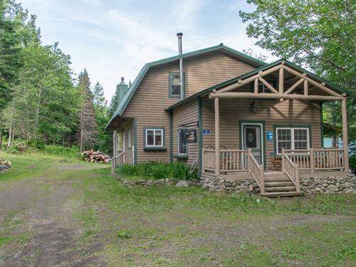 Maine Country Home in Merrill : Merrill Corner : Aroostook County : Maine