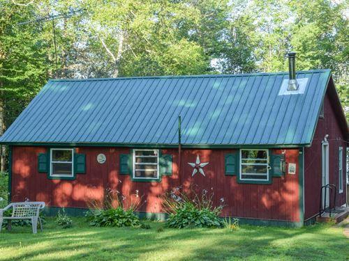 Off-Grid Camp in Molunkus, Maine : Molunkus : Aroostook County : Maine