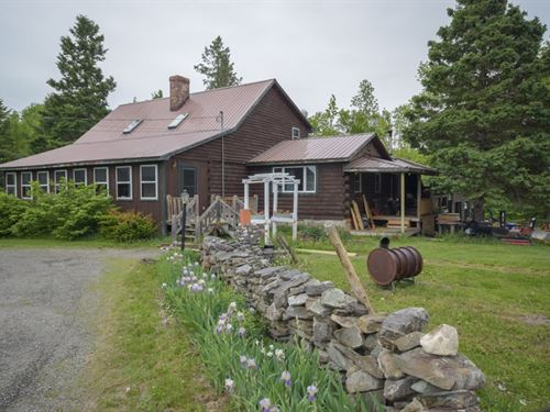 Maine Country Home in Sherman : Sherman : Aroostook County : Maine