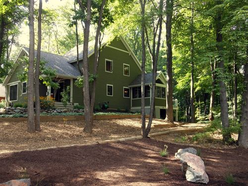 Southwest Michigan Lake House, Lake : Berrien Springs : Berrien County : Michigan