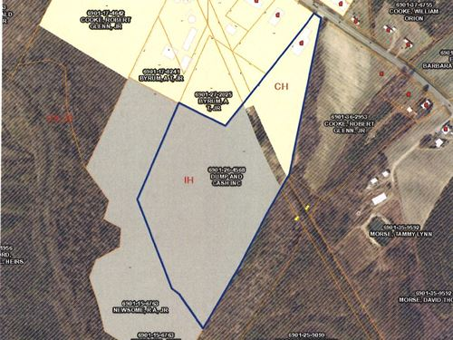 Heavy Industrial, Vacant Land : Ahoskie : Hertford County : North Carolina