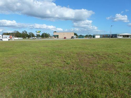 Prime Commercial Lot, Add'l Land : Beulaville : Duplin County : North Carolina
