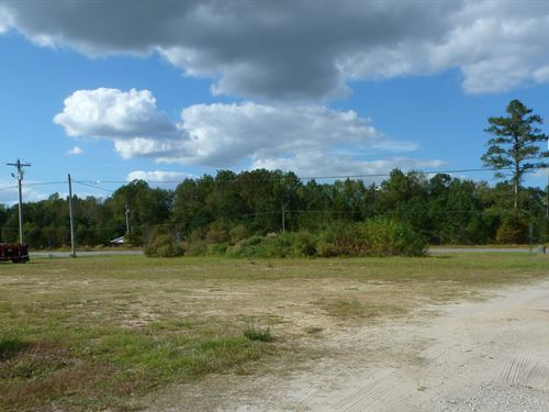 Commercial Lot,.60 Acre, Add'l Land : Beulaville : Duplin County : North Carolina