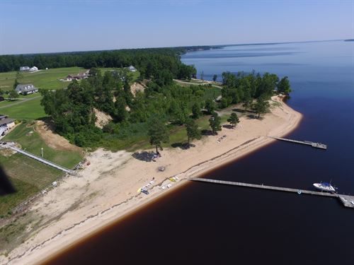 7 Lots Available Water : Colerain : Bertie County : North Carolina