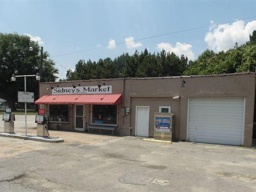 Operating Country Store-Gas : Conway : Northampton County : North Carolina