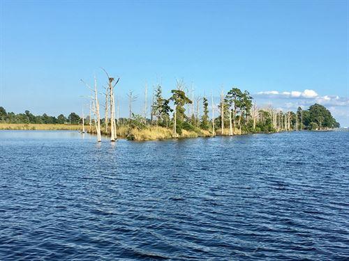 Duck Hunting Island Chocowinity : Chocowinity : Beaufort County : North Carolina