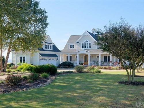 Beautiful Home Albemarle Sound : Edenton : Chowan County : North Carolina