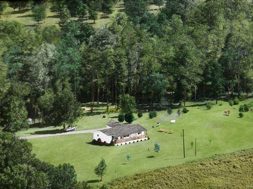 Creek Front Home With Acreage : Elizabeth City : Perquimans County : North Carolina