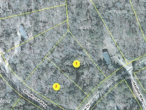 Over 2 Acres In North Carolina : Kittrell : Vance County : North Carolina