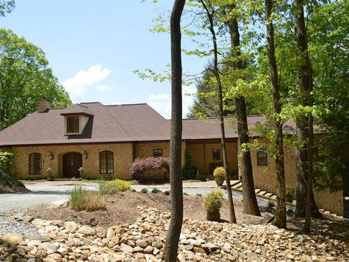 Home Roaring Gap Long Range Views : Roaring Gap : Alleghany County : North Carolina