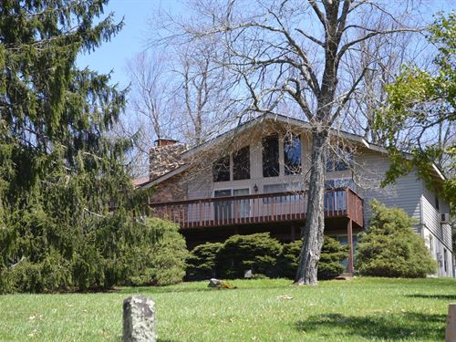 Golf Course Mountain Chalet Blue : Roaring Gap : Alleghany County : North Carolina