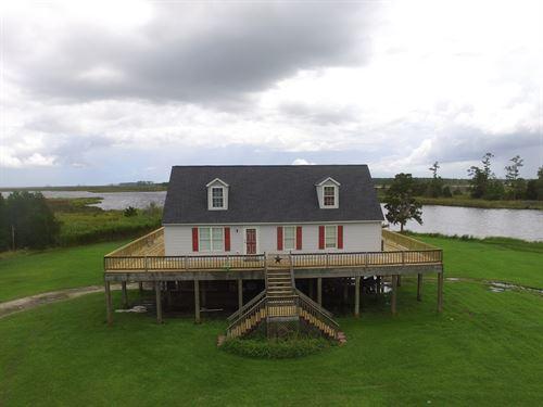 Premier Waterfront Property Hyde : Scranton : Hyde County : North Carolina