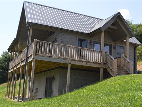 Gated Community Mountain Views : Sparta : Alleghany County : North Carolina
