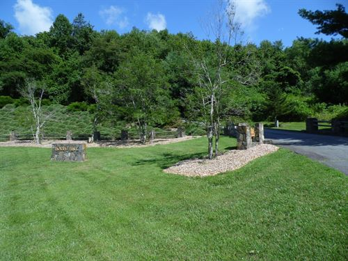 Beautiful Homesite in Alleghany NC : Sparta : Alleghany County : North Carolina