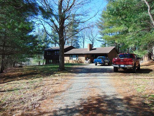 Home Acreage Alleghany County NC : Sparta : Alleghany County : North Carolina