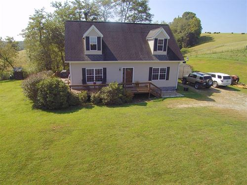 Home Small Acreage Suitable Horses : Sparta : Alleghany County : North Carolina