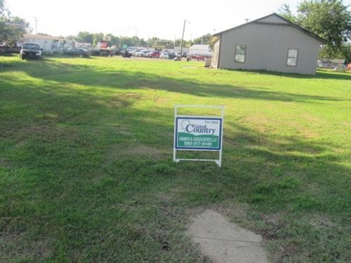 Commercial Lot in Antlers, OK : Antlers : Pushmataha County : Oklahoma