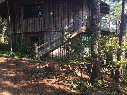Mountain Rustic Round 2 Story Cabin : Clayton : Pushmataha County : Oklahoma