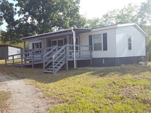 Southeastern Oklahoma Country Home : Finley : Pushmataha County : Oklahoma