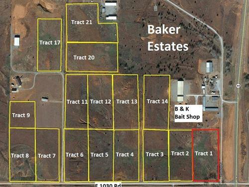 Foss Lake Home Building Lot : Foss : Custer County : Oklahoma