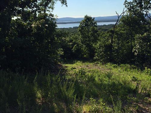 Building Lot Great Views Lake : Tuskahoma : Pushmataha County : Oklahoma