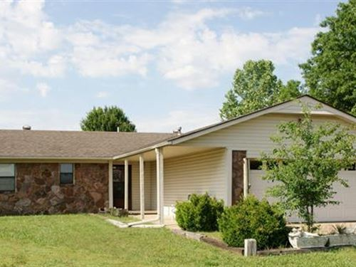 Country Home And Land Opportunity : Pryor : Mayes County : Oklahoma