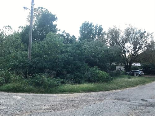Corner Residential Lot Wright City : Wright City : McCurtain County : Oklahoma