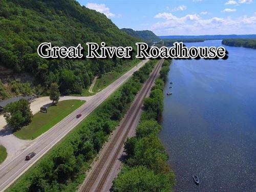 Great River Roadhouse : De Soto : Vernon County : Wisconsin