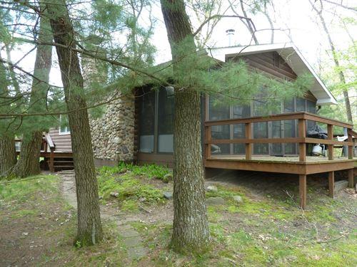 Lake Front Peninsula Property 2 : Oxford : Adams County : Wisconsin
