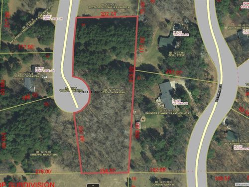 Buildable Lot For Sale Waupaca, WI : Waupaca : Wisconsin