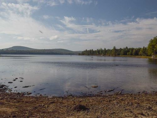 Maine Lakefront Lot in Lakeville : Lakeville : Penobscot County : Maine