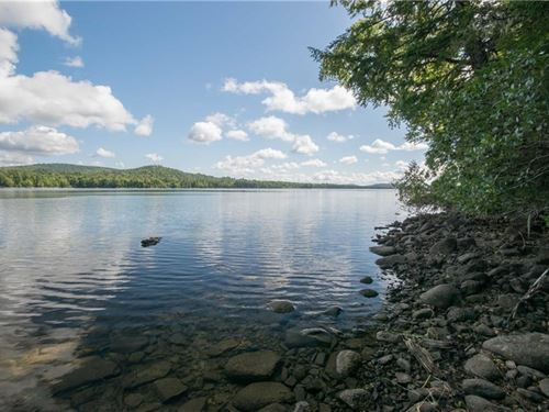 Maine Lakefront Land Springfield : Lakeville : Penobscot County : Maine