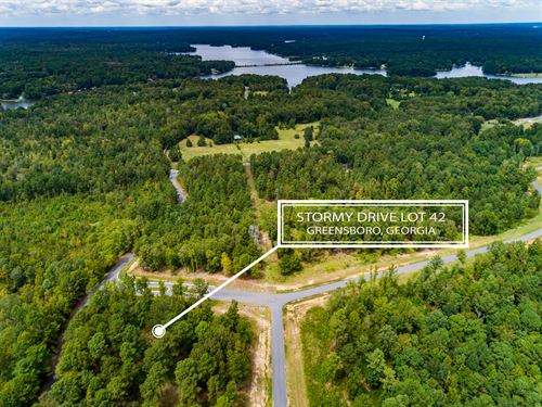 Lot In Harmony Bay At Lake Oconee : Eatonton : Putnam County : Georgia