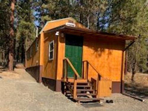 5.45 Acre On Red Squirrel : Bonanza : Klamath County : Oregon