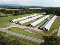 Four House Broiler Farm : Crandall : Murray County : Georgia