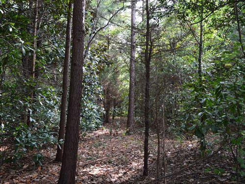 8.6 Acre Homesite Near Battleground : Chesnee : Cherokee County : South Carolina