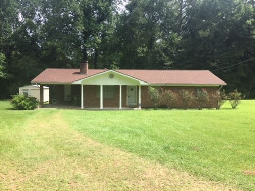 Home & 4.7 Acres : Tylertown : Walthall County : Mississippi