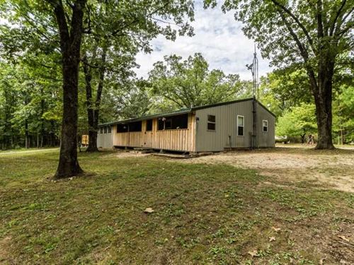 Home on 10 Acres For Sale in Wayne : Greenville : Wayne County : Missouri