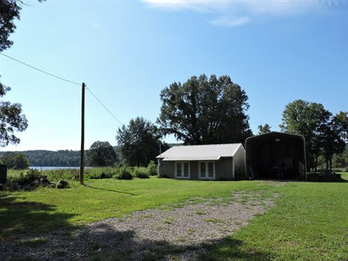 Lake Hinkle Frontage Property : Waldron : Scott County : Arkansas