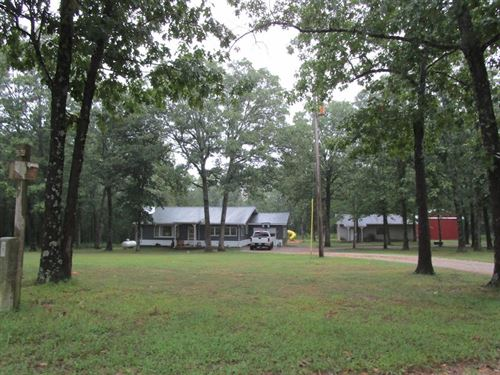 Country Home With Acreage For Sale : Mountain View : Texas County : Missouri