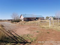 Two Bedroom Home Horse Facilities : Tularosa : Otero County : New Mexico