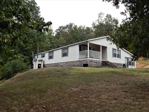 Tennessee Country Home, 3 Bed, 2 : Waynesboro : Wayne County : Tennessee
