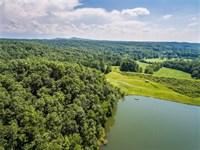Lake Front, Meadowlands, Talking : Talking Rock : Pickens County : Georgia