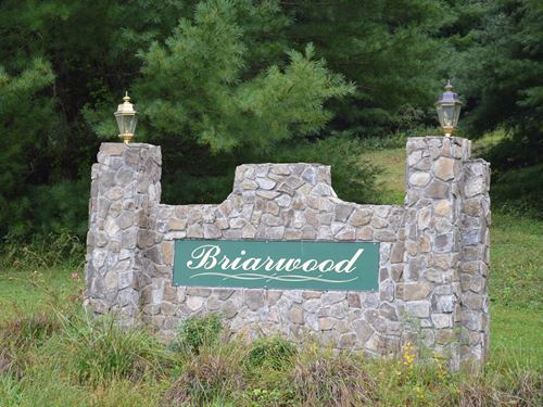 7 Lots in Briarwood Subdivision : Sparta : Alleghany County : North Carolina