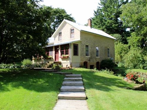 9 Acre Hobby Farm, Fishing Stream : Westby : Vernon County : Wisconsin