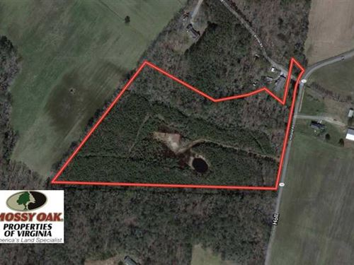 Under Contract, 16 Acres of Hunti : Miona : Accomack County : Virginia
