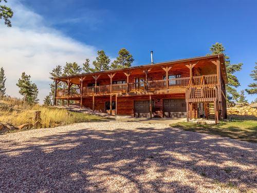 Mountain Country Log Homes CO : Livermore : Larimer County : Colorado