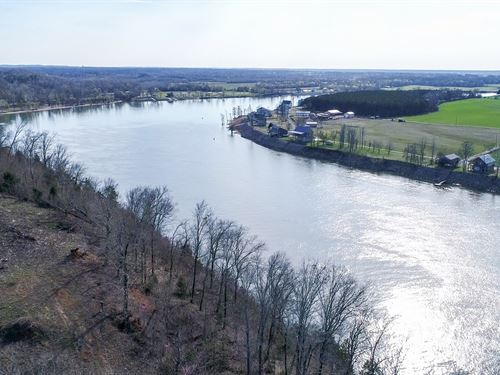 Tn River Front Land To Build On : Savannah : Hardin County : Tennessee