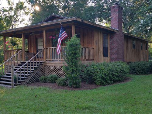 Oconee River Home : Glenwood : Wheeler County : Georgia